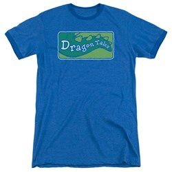 Dragon Tales - Mens Logo Clean Ringer T-Shirt