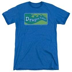 Dragon Tales - Mens Logo Clean Ringer T-Shirt