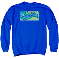 Dragon Tales - Mens Logo Clean Sweater