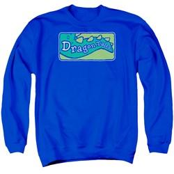Dragon Tales - Mens Logo Clean Sweater