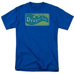Dragon Tales - Mens Logo Clean T-Shirt