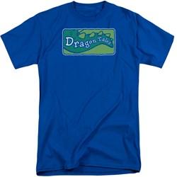 Dragon Tales - Mens Logo Clean Tall T-Shirt