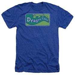 Dragon Tales - Mens Logo Clean Heather T-Shirt