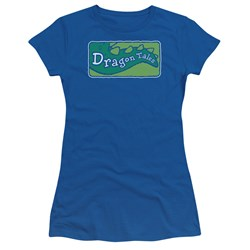 Dragon Tales - Juniors Logo Clean T-Shirt