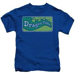 Dragon Tales - Little Boys Logo Clean T-Shirt