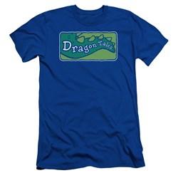 Dragon Tales - Mens Logo Clean Slim Fit T-Shirt