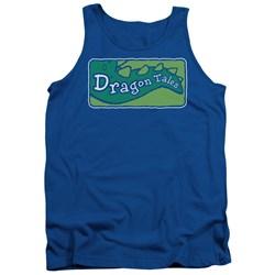 Dragon Tales - Mens Logo Clean Tank Top