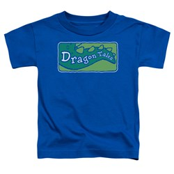 Dragon Tales - Toddlers Logo Clean T-Shirt