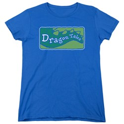 Dragon Tales - Womens Logo Clean T-Shirt