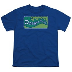 Dragon Tales - Big Boys Logo Clean T-Shirt