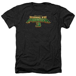 Kung Fu Panda - Mens Logo Heather T-Shirt