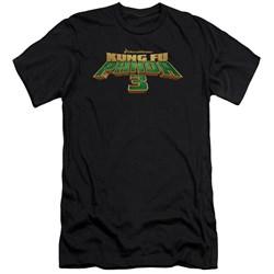 Kung Fu Panda - Mens Logo Slim Fit T-Shirt