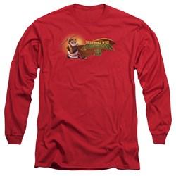 Kung Fu Panda - Mens Po Logo Long Sleeve T-Shirt