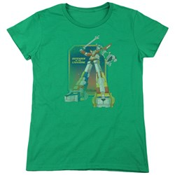 Voltron - Womens Distressed Defender T-Shirt