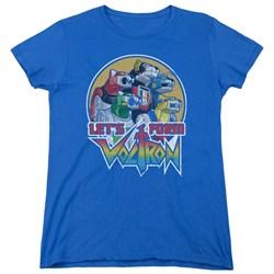 Voltron - Womens Let'S Form T-Shirt
