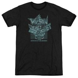 Voltron - Mens Defender Rough Ringer T-Shirt