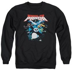 Kung Fu Panda - Mens Kung Fu Group Sweater