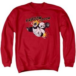 Kung Fu Panda - Mens Kaboom Of Doom Sweater
