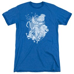 Rise Of The Guardians - Mens Coming For You Ringer T-Shirt