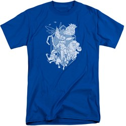 Rise Of The Guardians - Mens Coming For You Tall T-Shirt