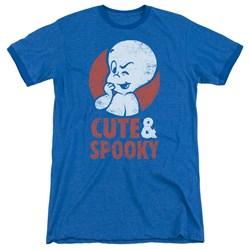 Casper - Mens Spooky Ringer T-Shirt