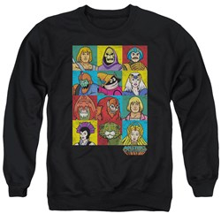 Masters Of The Universe - Mens Character Heads Sweater