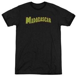 Madagascar - Mens Logo Ringer T-Shirt