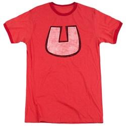 Underdog - Mens U Crest Ringer T-Shirt