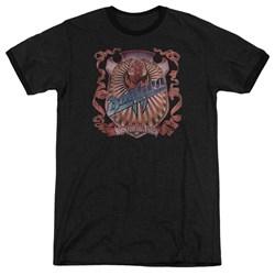 Dokken - Mens Back Attack Ringer T-Shirt