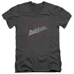Dokken - Mens Breaking The Chains V-Neck T-Shirt