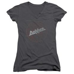 Dokken - Juniors Breaking The Chains V-Neck T-Shirt