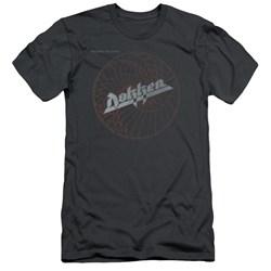 Dokken - Mens Breaking The Chains Premium Slim Fit T-Shirt