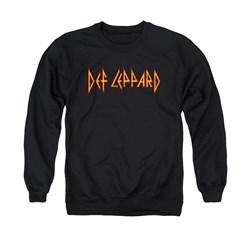 Def Leppard - Mens Horizontal Logo Sweater
