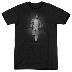 Dean - Mens Out For A Walk Ringer T-Shirt