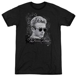 Dean - Mens Movie Star Ringer T-Shirt