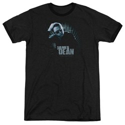 Dean - Mens Sunglasses At Night Ringer T-Shirt
