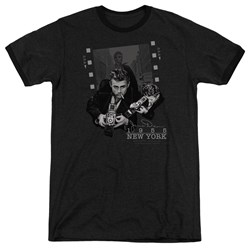 Dean - Mens Picture New York Ringer T-Shirt