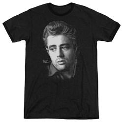 Dean - Mens Dots Ringer T-Shirt
