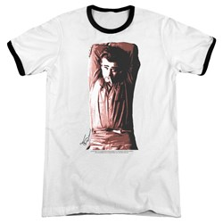 Dean - Mens Crossed Ringer T-Shirt