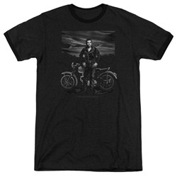 Dean - Mens Rebel Rider Ringer T-Shirt