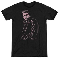 Dean - Mens Coat Ringer T-Shirt