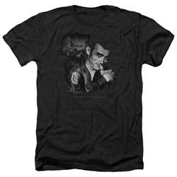 Dean - Mens Mischevious Large Heather T-Shirt