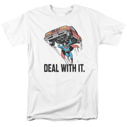 DC Comics - Mens Deal With It T-Shirt