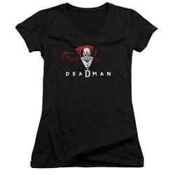 DC Comics - Juniors Deadman V-Neck T-Shirt