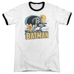 DC Comics - Mens Night Off Ringer T-Shirt