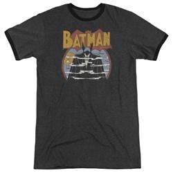 DC Comics - Mens Foggy Ringer T-Shirt