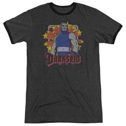 DC Comics - Mens Darkseid Stars Ringer T-Shirt