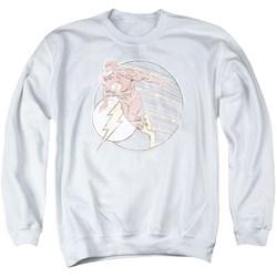 DC Comics - Mens Retro Flash Iron On Sweater