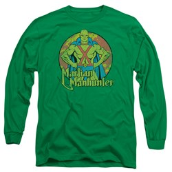 DC Comics - Mens Martian Manhunter Long Sleeve T-Shirt