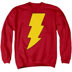 DC Comics - Mens Shazam Logo Sweater